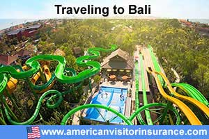 Buy visitor insurance for Bali