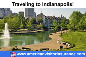 Buy visitor insurance for Indianapolis