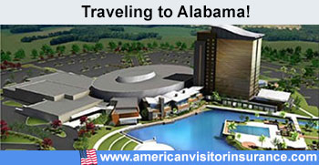 Travel insurance for Alabama