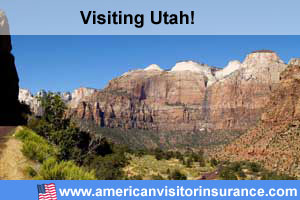 Buy travel insurance for Utah