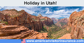 Travel insurance for Utah